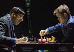 viswanathan anand salvages a draw after long game