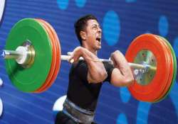 seven cwg medallists in weightlifting squad for asian games