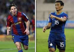 lionel messi dazzled kolkata bhutia retired in 2011