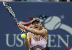 sharapova eases into 2nd round at us open