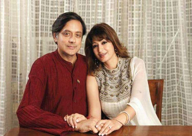 jab they met shashi tharoor and sunanda pushkar- India Tv