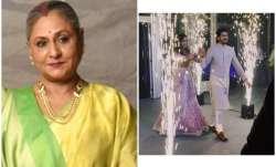 Jaya Bachchan at Mohit Marwah wedding
