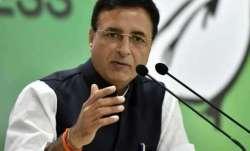 Congress communications in-charge Randeep Surjewala