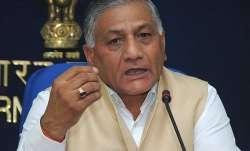 File pic of VK Singh
