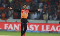 Riding on wonder spinner Rashid Khan's brilliant effort,