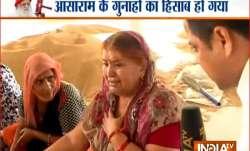 Asaram devotee wailing in Chandigarh