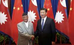 This is PM K.P. Oli's first official visit to China after