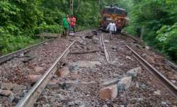 Chhattisgarh: Eight goods train wagons fall off bridge