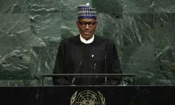 File photo ofPresident Muhammadu Buhari of Nigeria