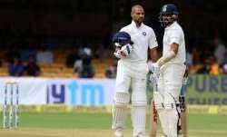 Shikhar Dhawan and Murali Vijay