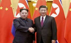 North Korean Leader Kim Jong Un along with Chinese