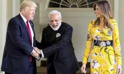 Prime Minister Narendra Modi meeting the President of