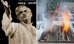 Former PM Vajpayee cremated with full military honours at