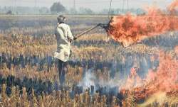 Stubble burning in Punjab and Haryana is a major cause of
