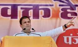 Addressing a poll rally for the upcoming polls in the