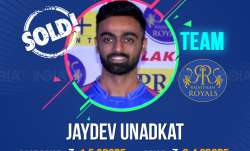 Last year's big fish Unadkat once again was not left behind