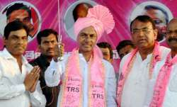 KCR, known for his impeccable oratory skills only won from