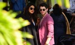 Priyanka Chopra and Nick Jonas at Mumbai airport