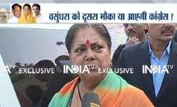 Development will win in Rajasthan, says CM Vasundhara Raje
