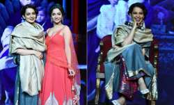 Kangana Ranaut and Ankita Lokhande were in Delhi to launch