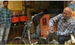 Vishnu Patel, 60-year-old Gujarat man, a Divyang, is known