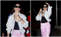 Bollywood diva Jacqueline Fernandez was papped in a sassy