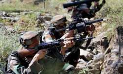 Ceasefire violation by Pak Rangers: Heavy firing continues