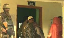 Polling underway in Anantnag district of Jammu and Kashmir