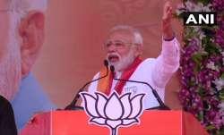 Prime Minister Narendra Modi in Patan