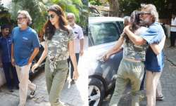 Kriti Sanon was spotted at director Rakeysh Omprakash