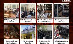 Blasts in Sri Lanka have been reported from eight different