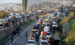 The nearly 300 km-long highway is the lifeline of essential