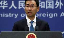 Chinese Foreign Ministry spokesman Geng Shuang