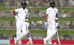 Ajinkya Rahane and Virat Kohli remained unbeaten at the end