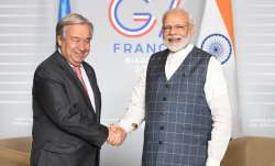 PM Modi holds productive discussions with UN chief Antonio