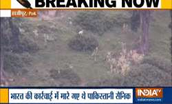 India TV Exclusive: Pak soldiers wave white flag after