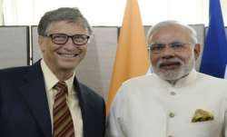 Bill Gates and PM Modi
