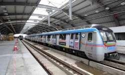 Woman dies in freak mishap at Metro station in Hyderabad