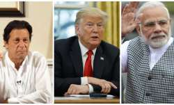Pakistan PM Imran Khan, US President Donald Trump and