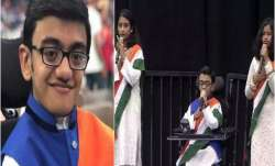 Sparsh Shah: Meet teen rapper who sang the national anthem