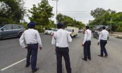 Under new traffic rules, 'helmet' challan for bus driver in