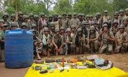 Chhattisgarh: Naxal hideout busted in Kawardha,