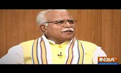 Manohar Lal Khattar in Aap Ki Adalat: Our rivals are very