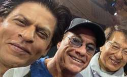 Shah Rukh Khan's fan moment with his heroes Jackie chan