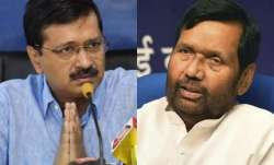 Water quality spat: Paswan challenges Kejriwal to serve tap water at official meetings