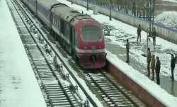 Rail service in Kashmir resume, mini buses on roads in