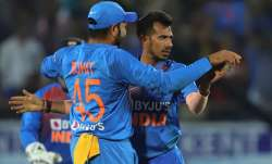 Rohit Sharma with Yuzvendra Chahal