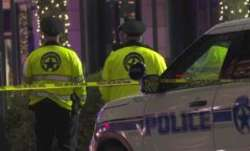 11 shot on edge of French Quarter in New Orleans