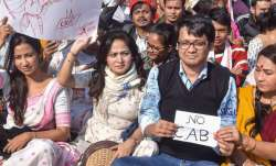 Protests against citizenship law continue in Bengal, road