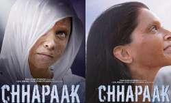 Deepika Padukone as Malti looks fearless in Chhapaak latest posters